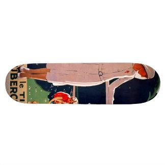 Achetez le timbre antituberculeux skateboard