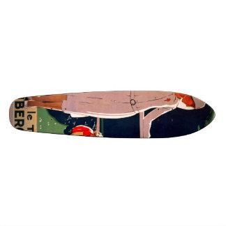 Achetez le timbre antituberculeux skateboard deck