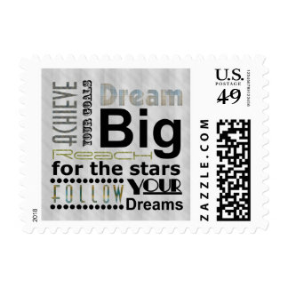 Achievable Dreams Postage Stamp