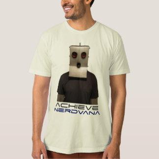 Achieve Nerdvana Robot Tee Shirt