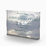 """Achievement Award (the sky is the limit)<br><div class=""""desc"""">Achievement Award (the sky is the limit with your performance) Edit for your high achievers in the work place.</div>"""