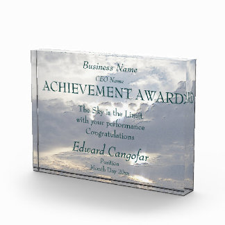 Achievement Award (the sky is the limit)