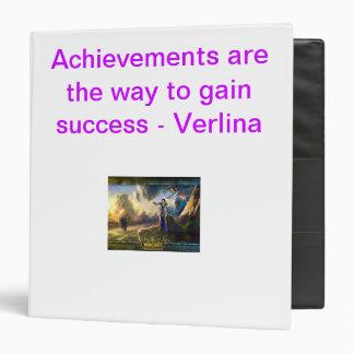 Achievement Binder