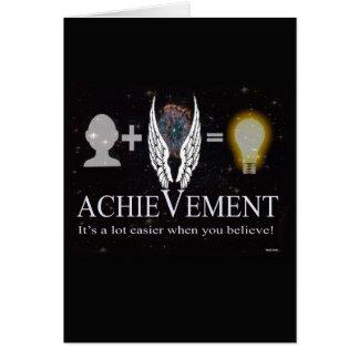 Achievement Card