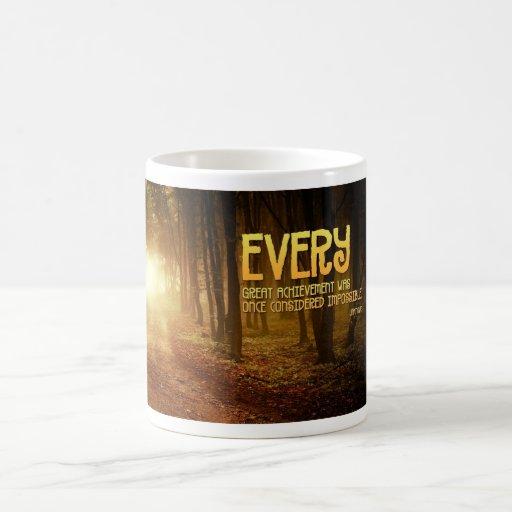 Achievement Inspirational Mug