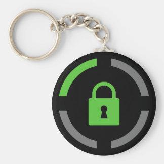 Achievement Locked Basic Round Button Keychain