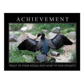 Achievement Postcard