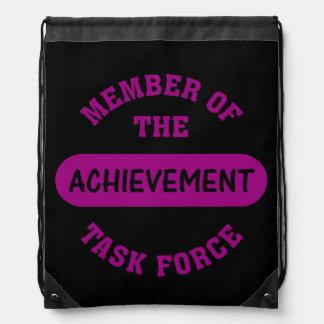 Achievement Task Force Member Cinch Bag