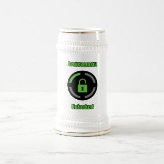 Achievement Unlocked Beer Stein