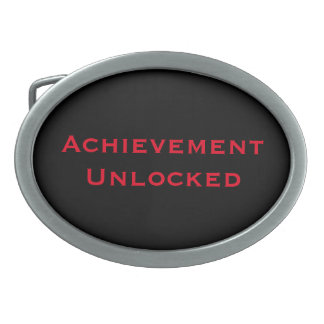 Achievement Unlocked Belt Buckle
