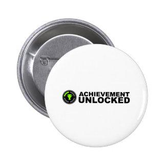 Achievement Unlocked Pins