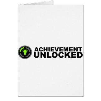 Achievement Unlocked Greeting Cards