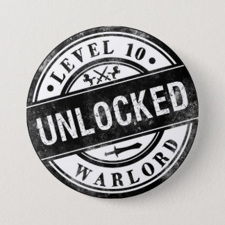 Achievement Unlocked Gamers Funny Button