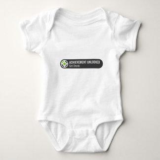 Achievement Unlocked Get Drunk Baby Bodysuit