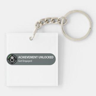 Achievement Unlocked - Got Engaged Keychains