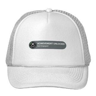 Achievement Unlocked - Got Engaged Trucker Hat