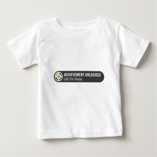 Achievement Unlocked Left the House Baby T-Shirt