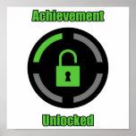 Achievement Unlocked Poster