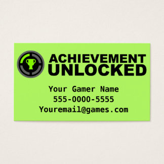 Video Game Business Cards & Templates | Zazzle