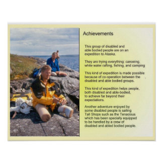 AChievements - working together Poster