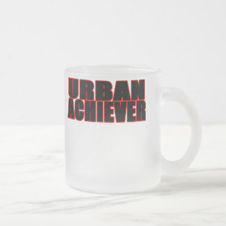 Achiever2 Frosted Glass Coffee Mug