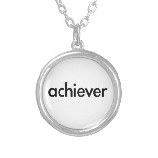 achiever personalized necklace