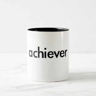 achiever Two-Tone coffee mug