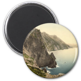 Achill Head, County Mayo 2 Inch Round Magnet