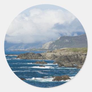 Achill Island, County Mayo, Ireland Stickers