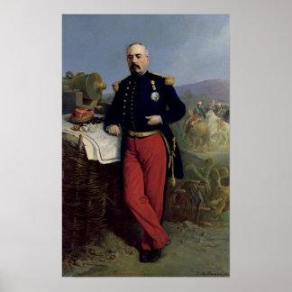 Achille Bazaine  1867 Poster