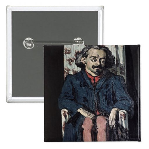 Achille Emperaire  c.1868 Pinback Button