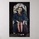 Achille Emperaire  c.1868 Poster