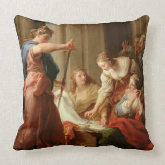 Achilles at the Court of King Lycomedes with his D Pillow