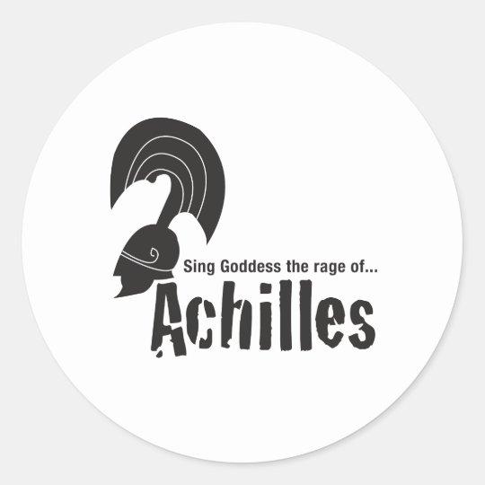 Achilles Classic Round Sticker