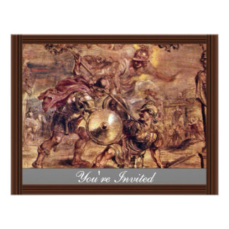 Achilles Defeated Hector.,  By Peter Paul Rubens Announcements