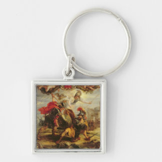 Achilles Defeating Hector, 1630-32 Keychain