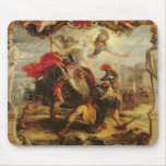 Achilles Defeating Hector, 1630-32 Mouse Pad