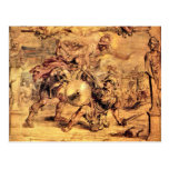 Achilles defeats Hector by Paul Rubens Postcards