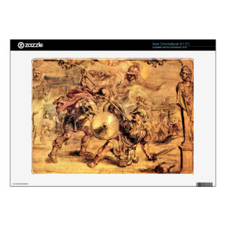 Achilles defeats Hector by Paul Rubens Acer Chromebook Decal