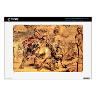 Achilles defeats Hector by Paul Rubens Samsung Chromebook Skins