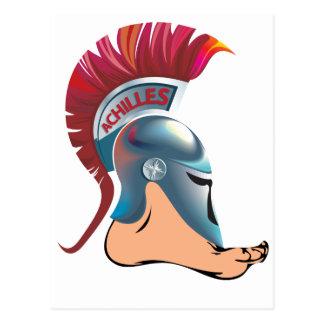 Achilles Foot Postcard