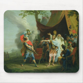Achilles has a dispute with Agamemnon, 1776 Mouse Pad