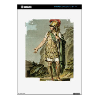 Achilles in Armour, costume for 'Iphigenia in Auli Decals For iPad 3