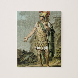 Achilles in Armour, costume for 'Iphigenia in Auli Jigsaw Puzzle