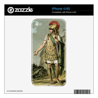 Achilles in Armour, costume for 'Iphigenia in Auli Decal For The iPhone 4S