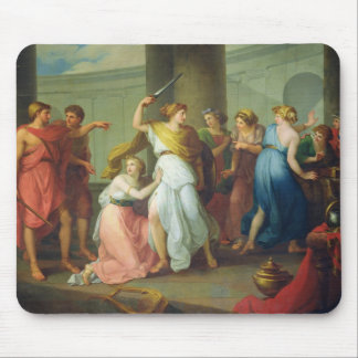 Achilles recognised, 1799 mouse pad