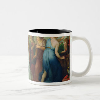 Achilles recognised, 1799 Two-Tone coffee mug