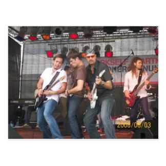 Achim Petry & Band Postcard