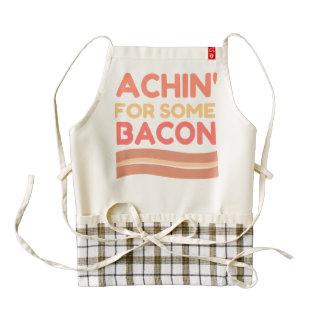 Achin For Bacon Zazzle HEART Apron