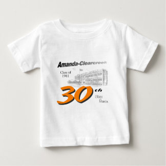 ACHS 30th class reunion logo Baby T-Shirt